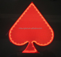 best selling products in Las Vegas for acrylic lit panel gaming poker