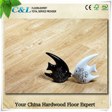 C&L oak wood grain design 12mm laminate flooring