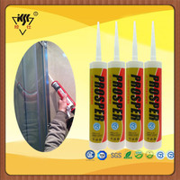 300ml Colored RTV Acetic Glass Door Seal Silicone Sealant