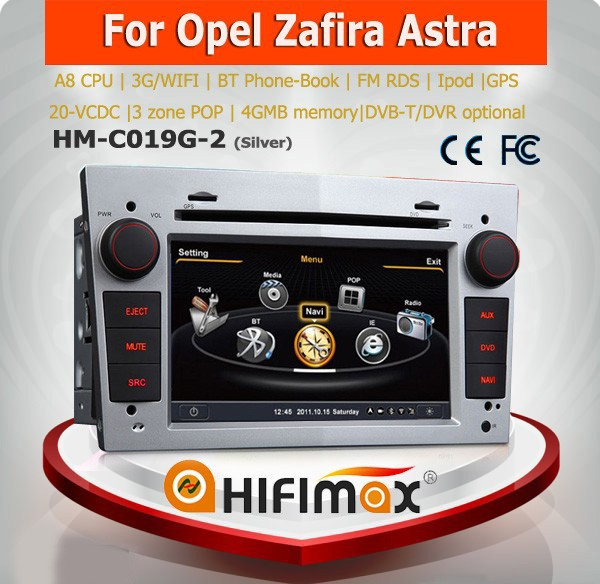 Hifimax 2 din touch screen car navigation opel corsa dvd navigation car multimedia for opel corsa c/opel corsa d