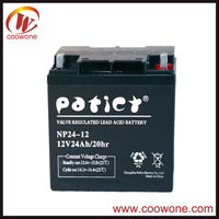 Manufacture 6v 4.0ah/7ah Sealed Rechargeable Lead Acid Battery