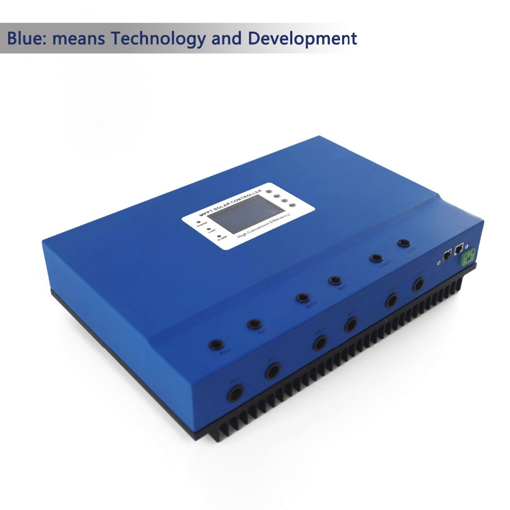 High efficient MPPT 48v 100a solar charger controller