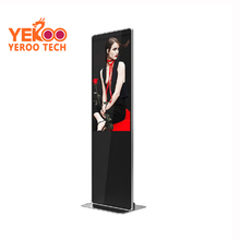 42 inch ultra thin lcd monitor vertical digital signage advertising display for shopping mall application