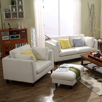 Wholesale discount lazy boy sectional white fabric sofa