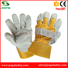 factory cow split leather docker gloves