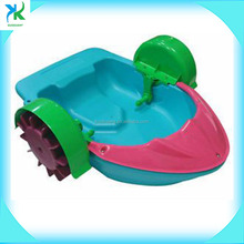 Kids Plastic Pedal Boat / Swimming Pool Aqua Paddler Boat For Sales