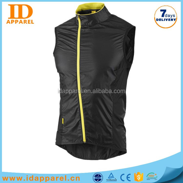 new design teflon waterproof vest , quick dry man outdoor vest