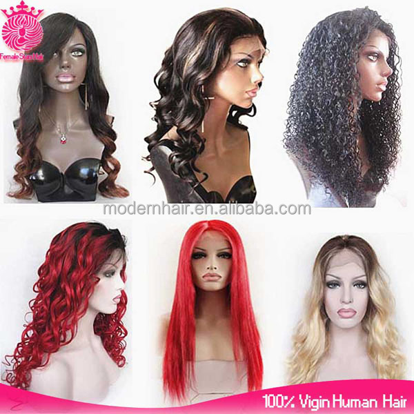 12-24 inch #99J 130% density virgin Brazilian human hair wavy glueless full lace wigs