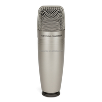 Samson C01U Pro USB Studio Condenser Microphone Real-time Monitoring Large Diaphragm Condenser for Broadcasting Music Recording