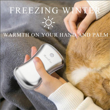 2-in-1 Cute Electric Hand Warmer and Power Bank 5200mAh Rechargeable Pocket Heater