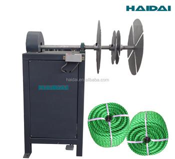 rope coiler machine
