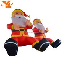 Christmas Inflatable Santa Clause Style, Holiday Hanging Crafts Inflatable Christmas Santa