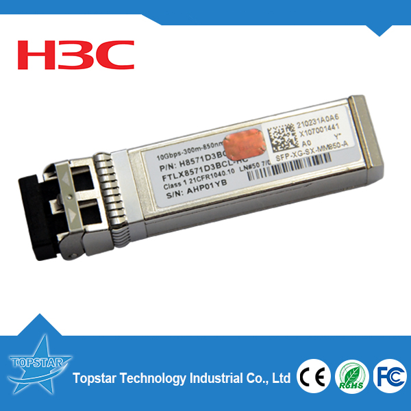 Original FLTX8571D3BCL-HC H3C sfp 10g 850nm MMF Optical for ethernet switch