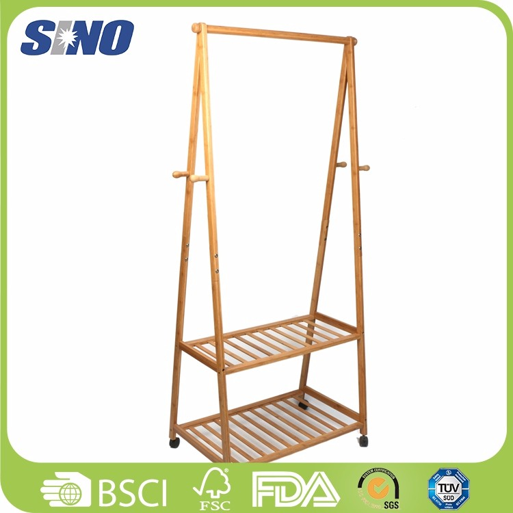 Healthy Bamboo Clothes Hanger Pole