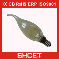 cet-033 e27 led filament bulb filament lamp led bulb 2w 4w