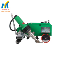 Cheap Electronically AUTO Controlled Hot Air Seam Welding Machine For PVC Plastic , Flex Banner Advertising Materials