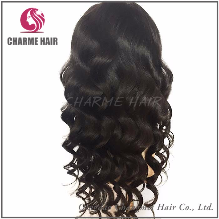 Factory Direct Price Cheap Human Indian Hair Black Woman Wig