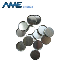 Aluminium clad 2032 coin cell cases for lithium battery production