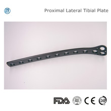 Orthopedic Implant Plate for Proximal Lateral Tibia Fractures