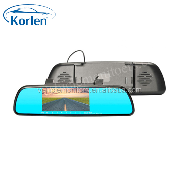 HD 5 inch rear view mirror in car with MP5/USB/SD/FM