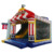17607 Exhibition hot sales item inflatable bouncer with slide for sales