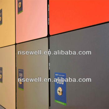 Phenolic electronic lockers refrigerated