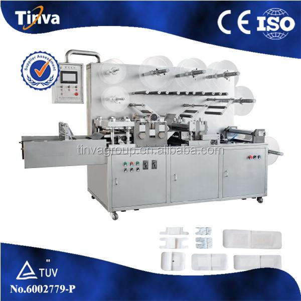 PLC Automatic Medical Surgical Dressing Pad Forming Machine