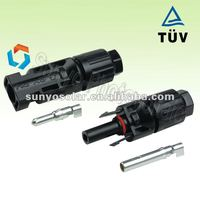 TUV approved water proof IP67 solar MC4 connector,factory price,high quality