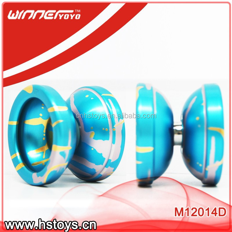 2017 hot selling sports toys aluminium yoyo OEM yoyo