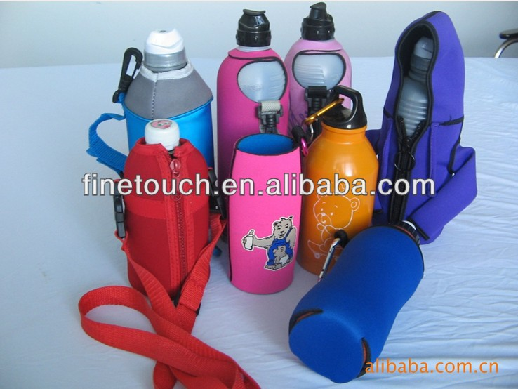 shoe-shape neoprene can cooler holder