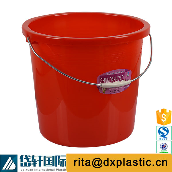 plastic 5 gallon silicone buckets with lid and rope handles