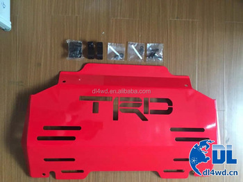 hilux trd auto car skid plate for 2016 toyota hilux revo accessories