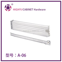Jieyang factory telescopic drawer slides for extendable tables