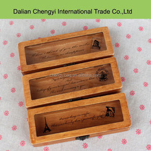 High quality popular student's wood pencil case