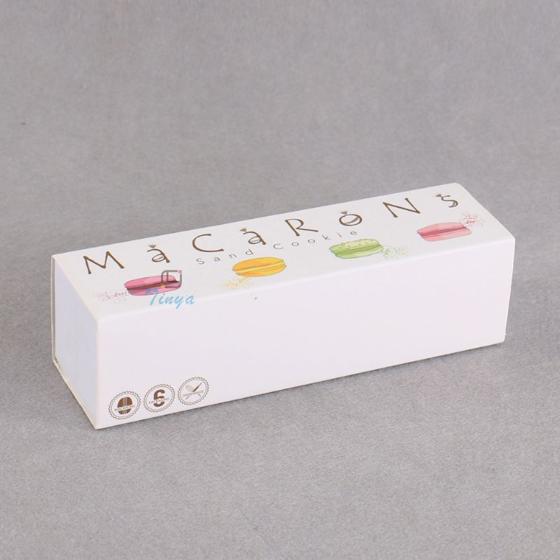 drawer packaging paper mini macaron box