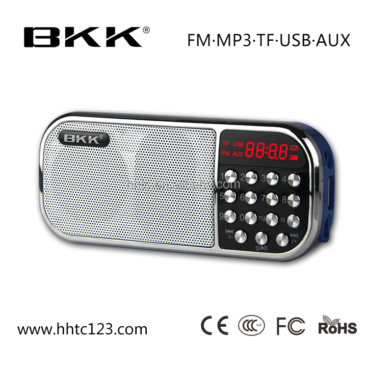 Mini digital music box speaker am fm portable radio (Q22)