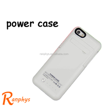 Ranphys colorful Best price backup Battery Charging Power bank Case for iPhone 5/5c/5s/5se