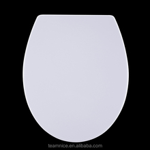 Easy installing wc sitz Solid color Never fade urea toilet seat Soft close function Toilet seat cover