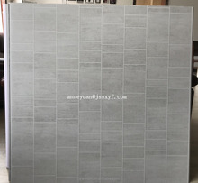 1m or 1.2m grey tile brick 3D pvc wall cladding panel for interior decoration