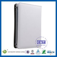 C&T Classical flip wallet product for ipad mini leather cases with stand