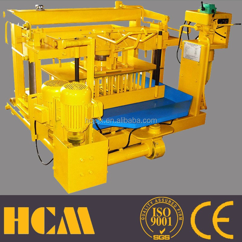 moulding machinery in india small scale industries QMY4-30 Haicheng machinery group