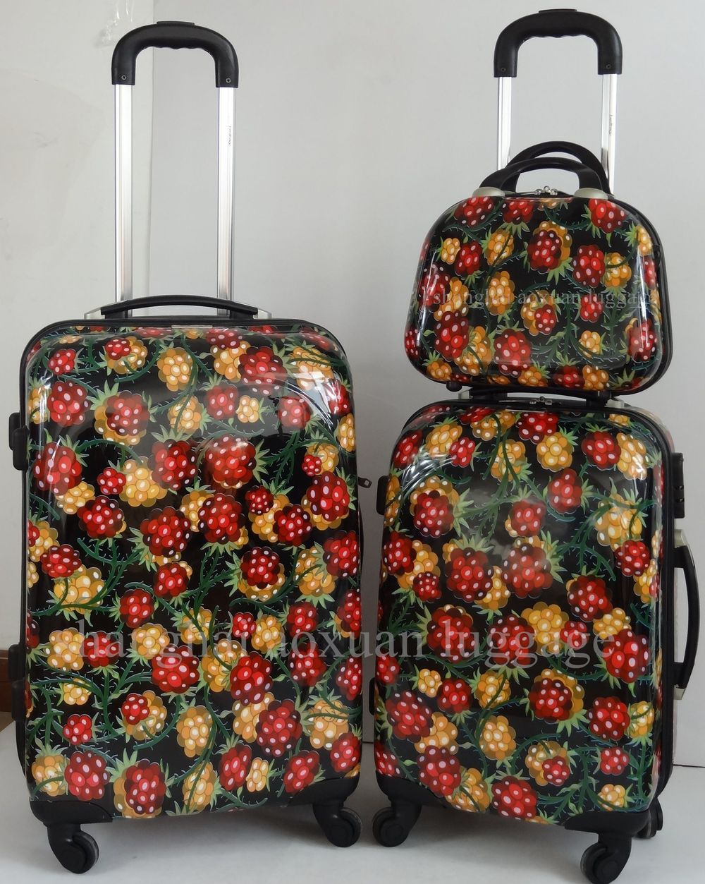eminent luggage sets 2014 new product ABS printed hard luggage