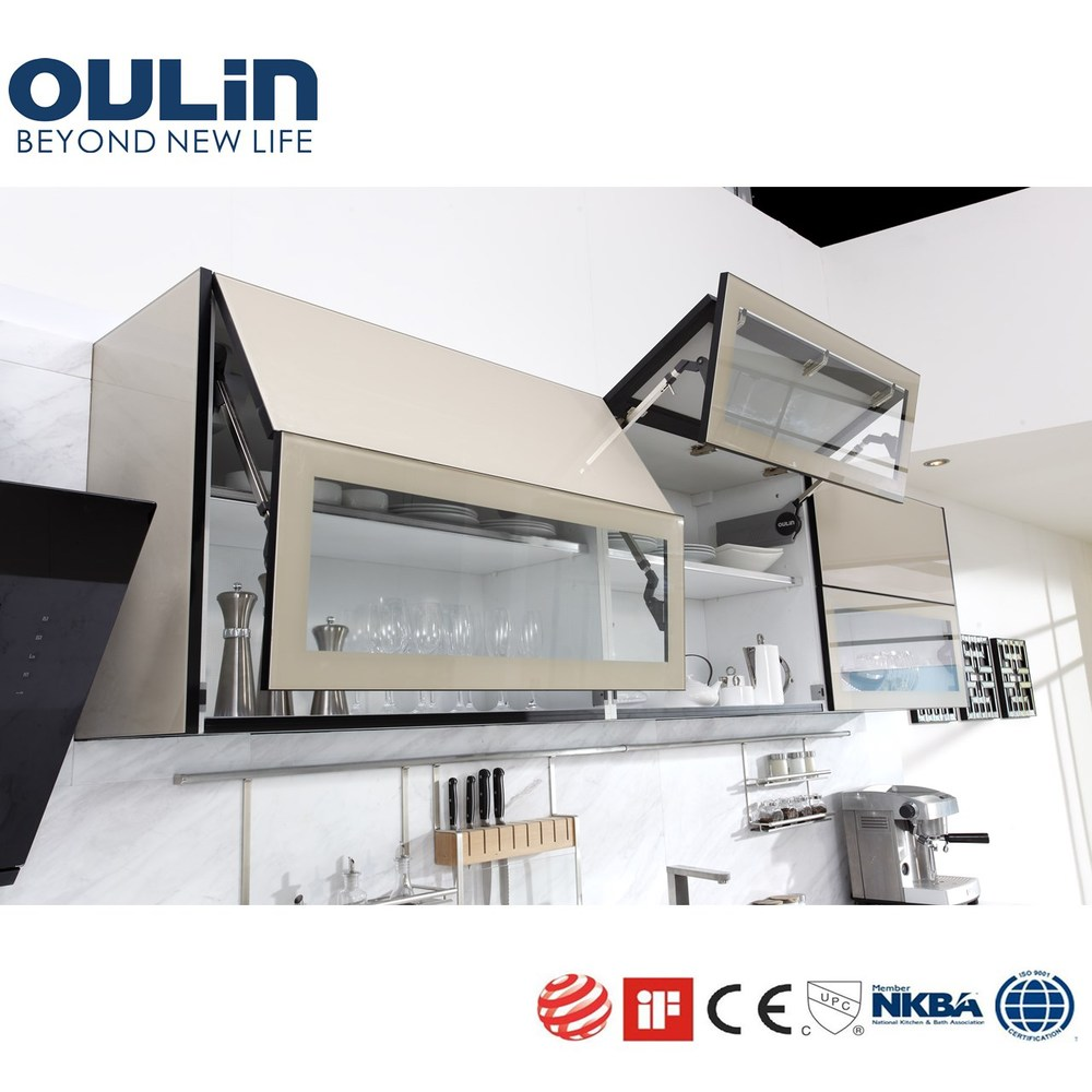 New products of oulin stylish automatic dream kitchen for Automatic kitchen cabinets