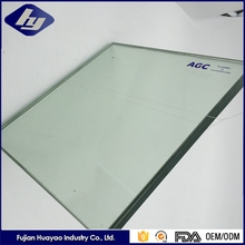 6mm Clear Color Laminated Glass For Window Customized Tempered Glass Sheet