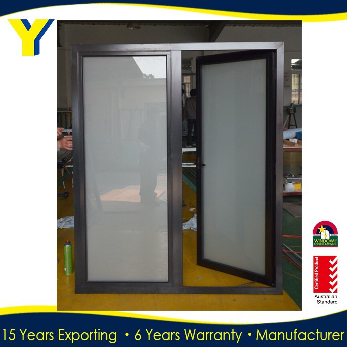 Obscured Glass Windows Fabricated by YY Construction Meet American Standard AAMA_Used Aluminum Casement Windows