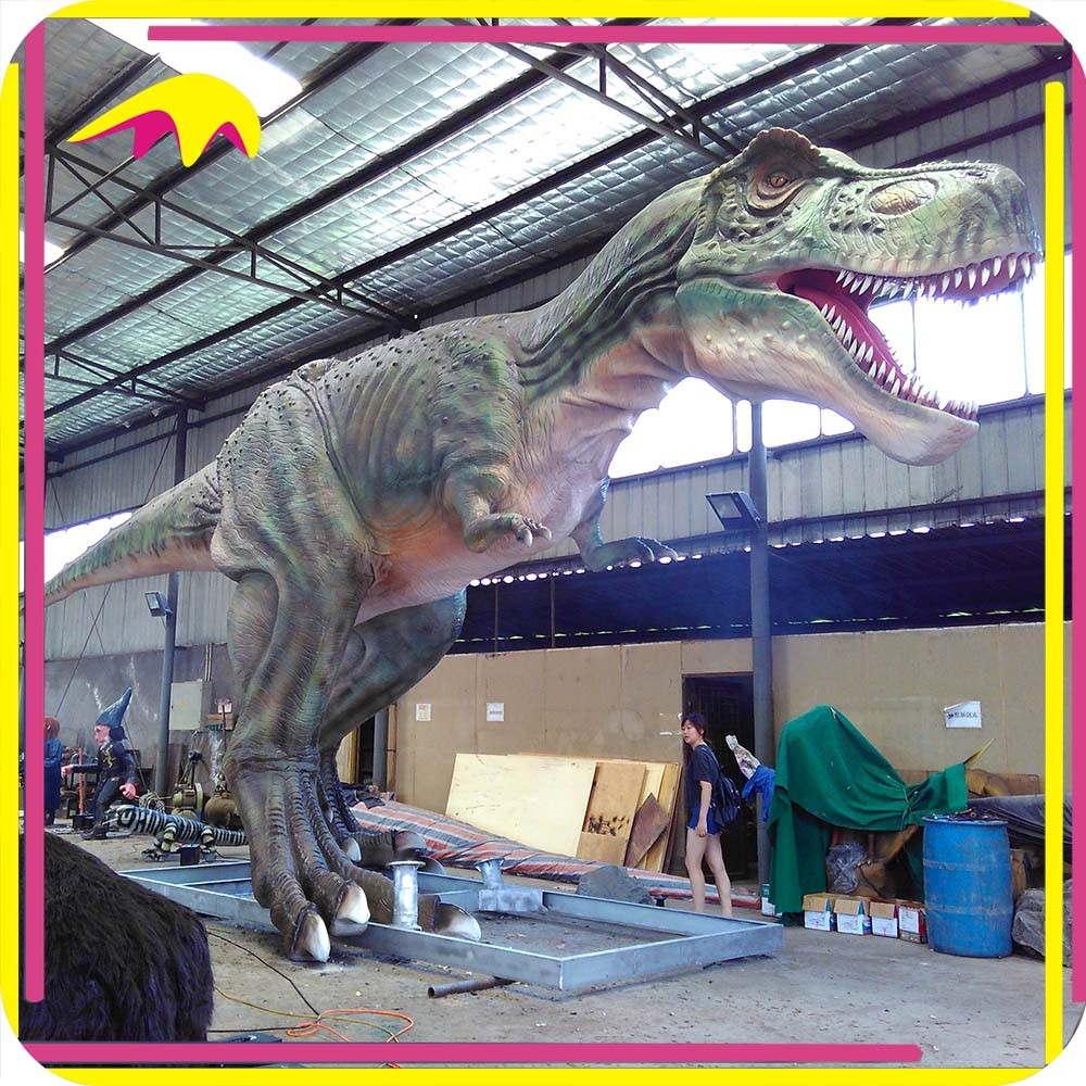 KANO4463 Traveling Exhibition Real Size Animatronic Dinosaur Children Games