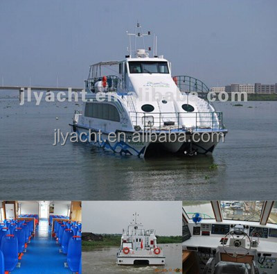 JL 21.6m fIberglass passenger catamaran for tourism