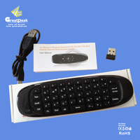 High Quality Multi-functional 2.4Ghz Air Mouse with Keyboard