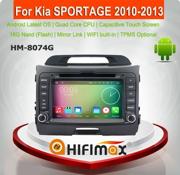 HIFIMAX wholesales Android 5.1.1 cd player mp3 player for Kia Sportage 2 din car dvd player auto radio with auto accessories