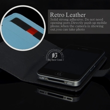 leather flip case for htc desire c